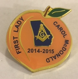 GM2015 Carol McDonald 'First Lady' Pin