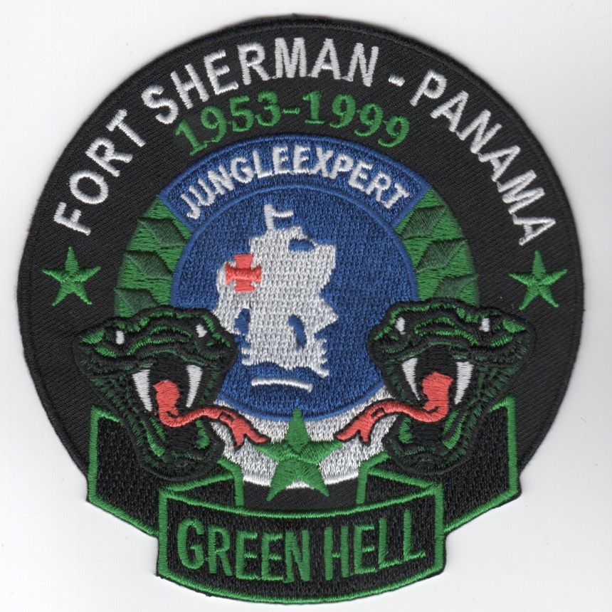 Ft. Sherman-Panama 'Green Hell' Patch