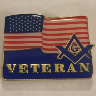 GM2016 F. Andrew Lane's Veteran's Pin