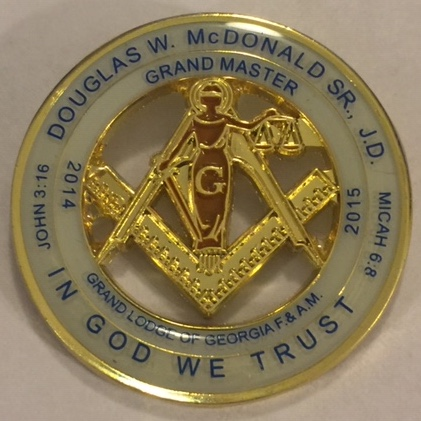 GM2015 Douglas W. McDonald Pin