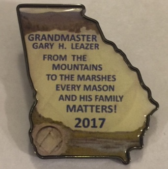 GM2017 Gary H. Leazer Pin