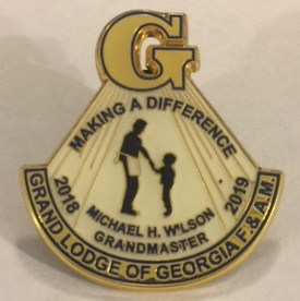 GM2019 Michael H. Wilson Pin