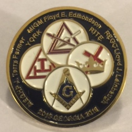 Grand York Rite 2015-2016 Lapel Pin