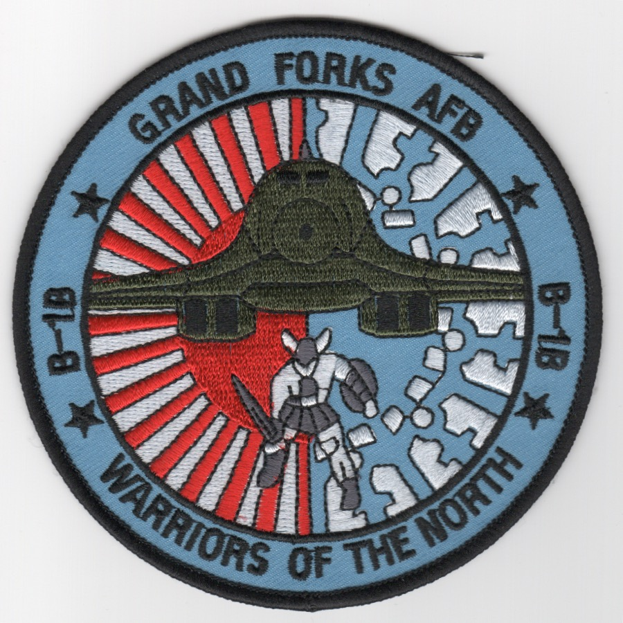 Grand Forks AFB B-1B Patch (Blue)