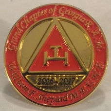 Grand Chapter MEGHP Shepard's Lapel Pin