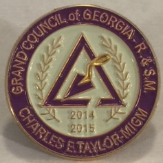 Grand Council MIGM Taylor's 2014-2015 Lapel Pin