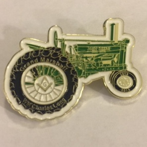Grand Marshall 2014 WB Charles Long Tractor Pin