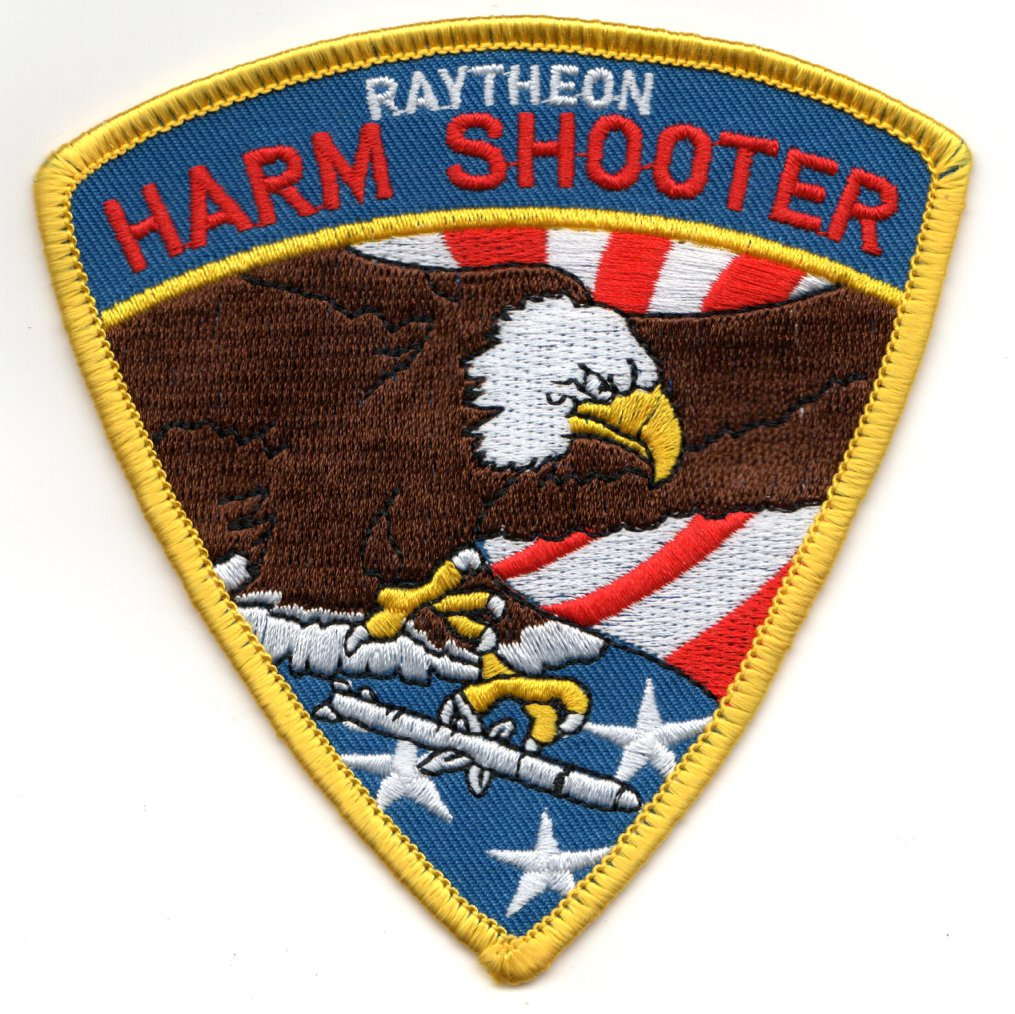 AGM-88 'HARM SHOOTER' Patch