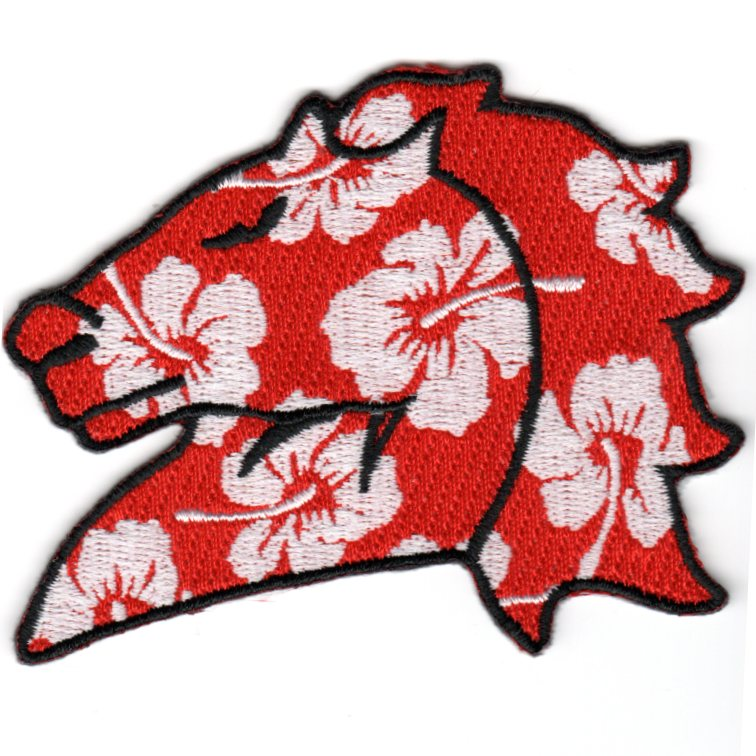 HM-14 Horsehead Patch (Red/White Flowers)