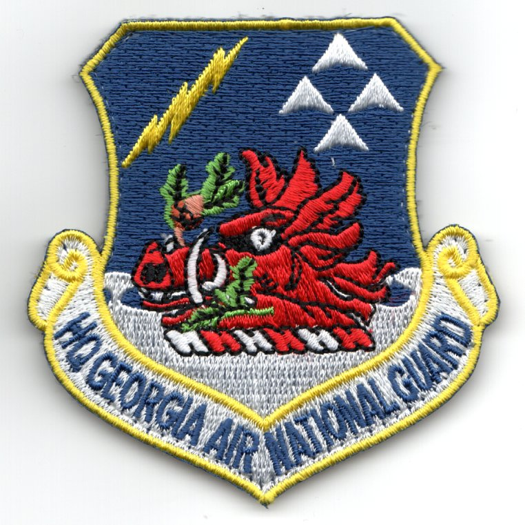 HQ GA ANG Crest Patch (Color)