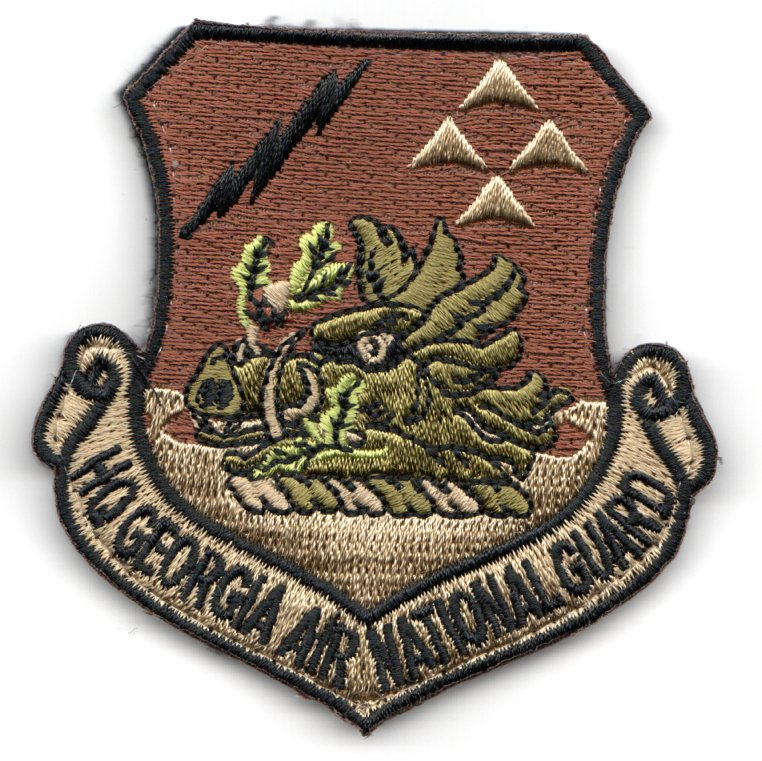 HQ GA ANG Crest Patch (OCP)