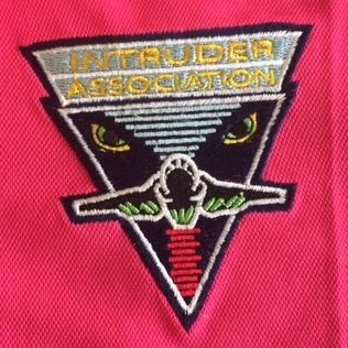 Intruder Association 'PINK' Polo Shirt Logo