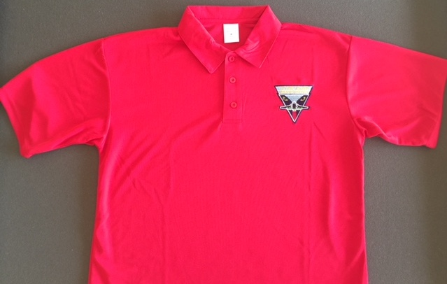 Intruder Association 'RED' Polo shirt