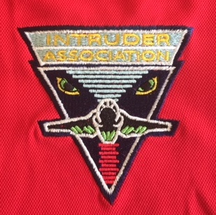 Intruder Association 'RED' Polo Shirt Logo
