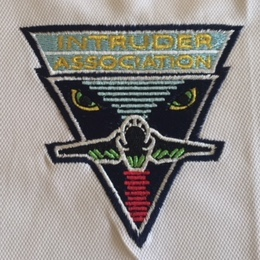 Intruder Association 'WHITE' Polo Shirt Logo