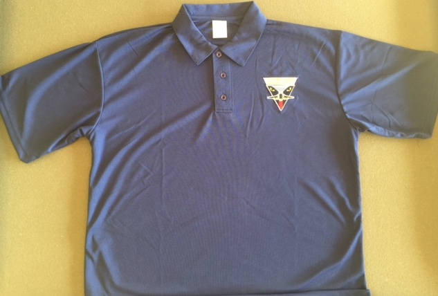 Intruder Association 'Dk. Blue' Polo Shirt