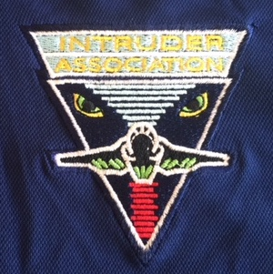 Intruder Association 'Dk. Blue' Polo Shirt Logo