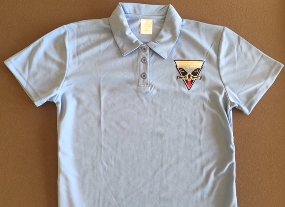 Intruder Association 'Lt. Blue' Polo Shirt