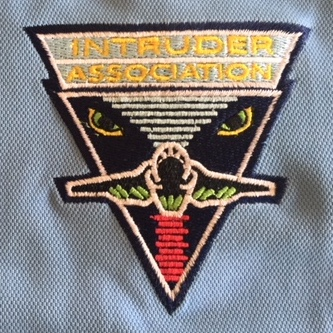 Intruder Association 'Lady-Blue' Polo Shirt Logo