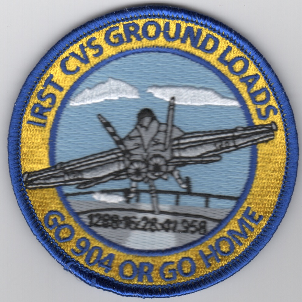 IRST CVS Ground Loads Patch
