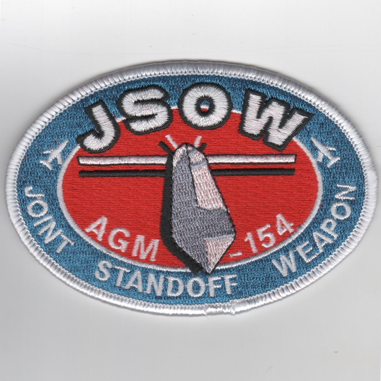 AGM-154 'JSOW' Patch (White Oval)