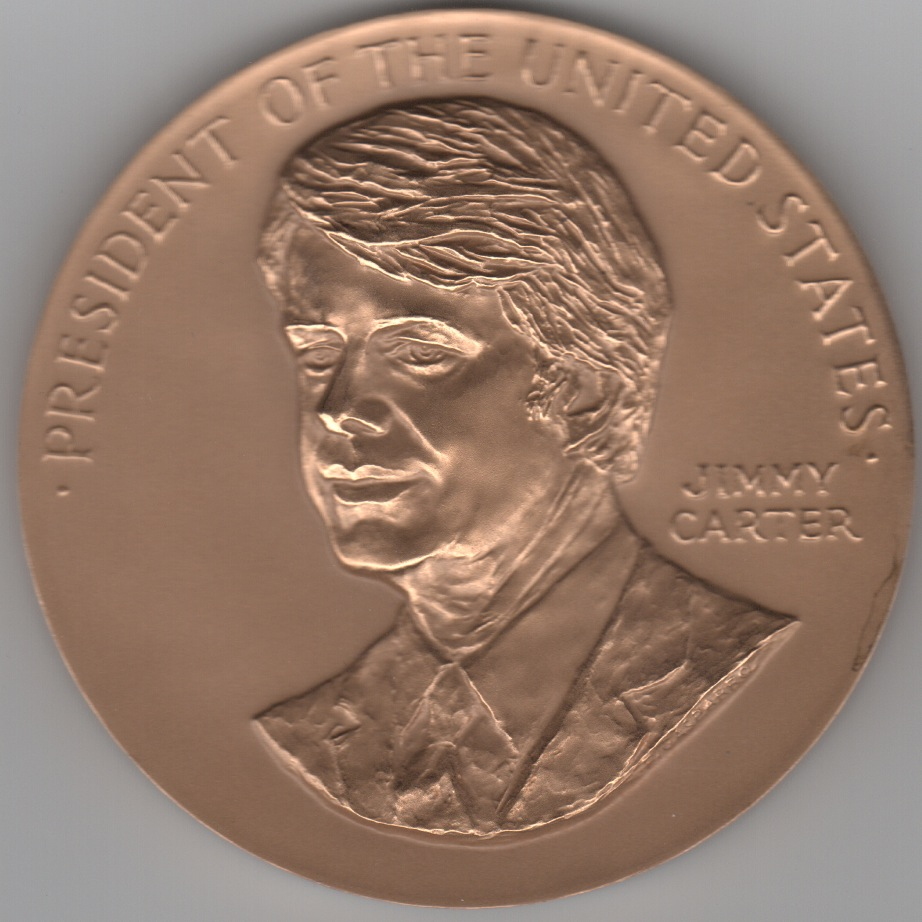 President Jimmy Carter Coin (Large)