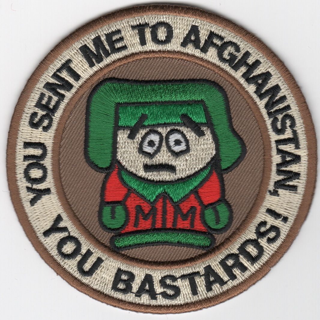 'Kenny-to-Afghan' Det Patch