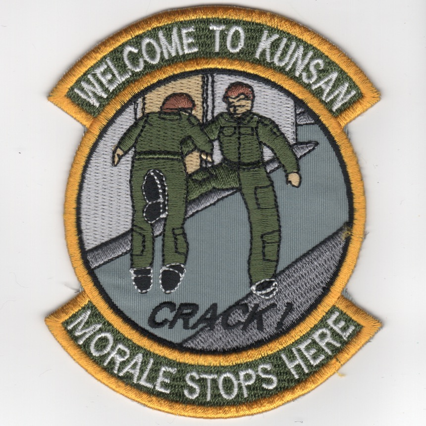 KUNSON AFB 'Morale Stops Here' Patch