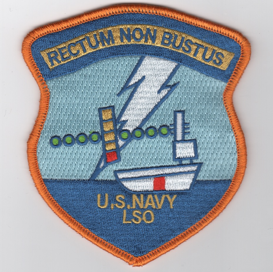 LSO School Patch (Full Embroidery/ORANGE Border)