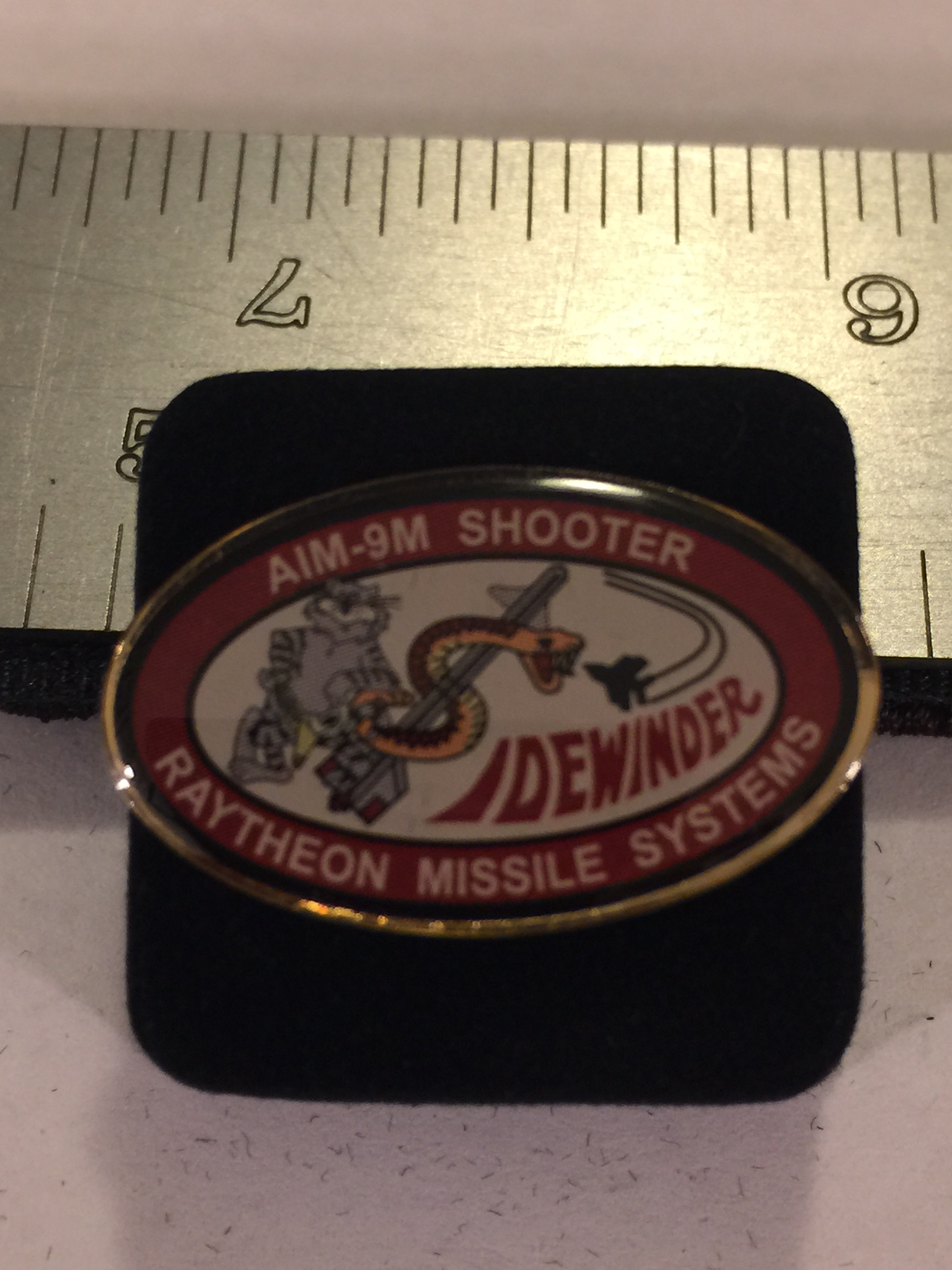 Lapel Pin: AIM-9RMS