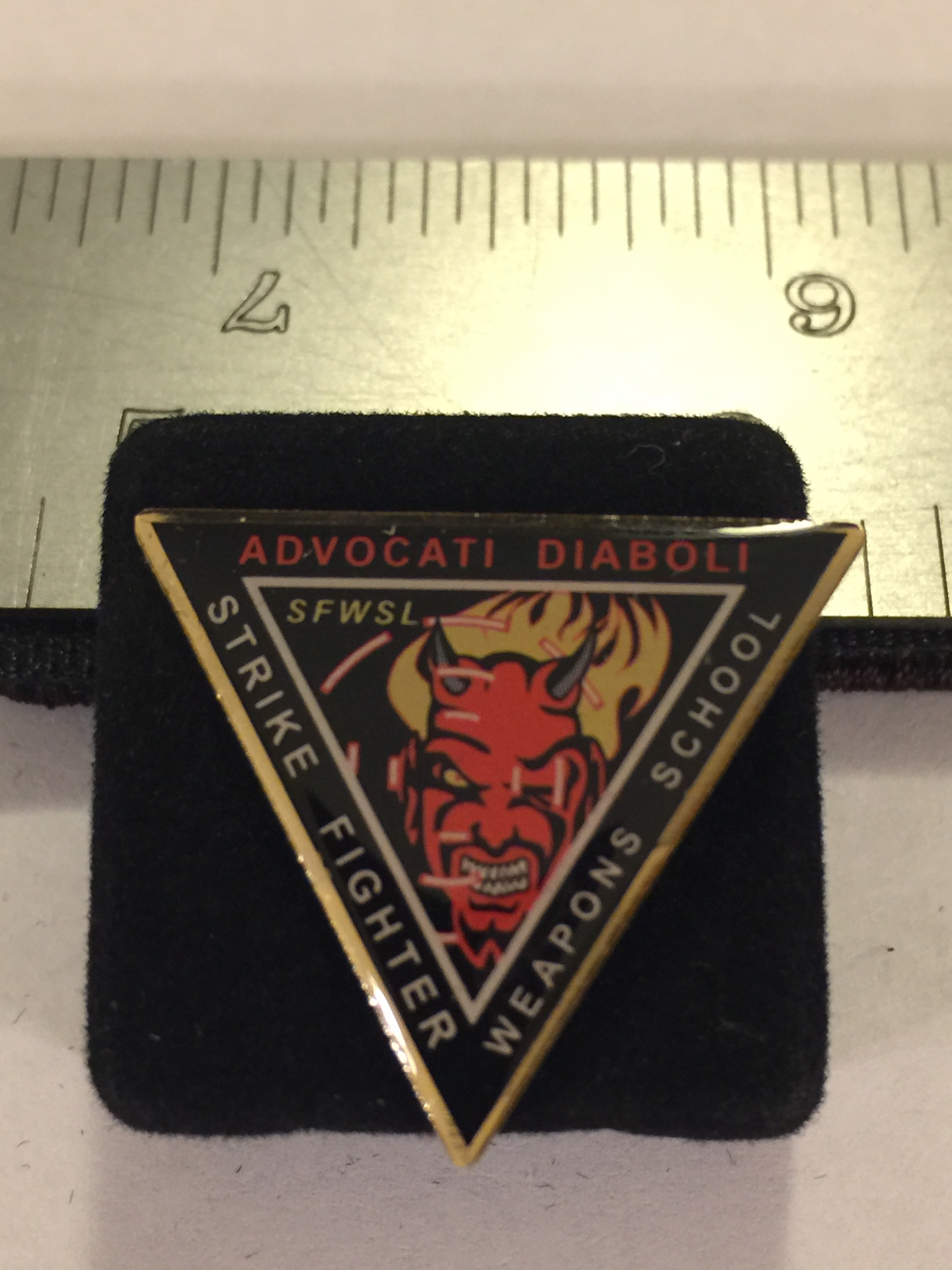 Lapel Pin: SFWS Triangle
