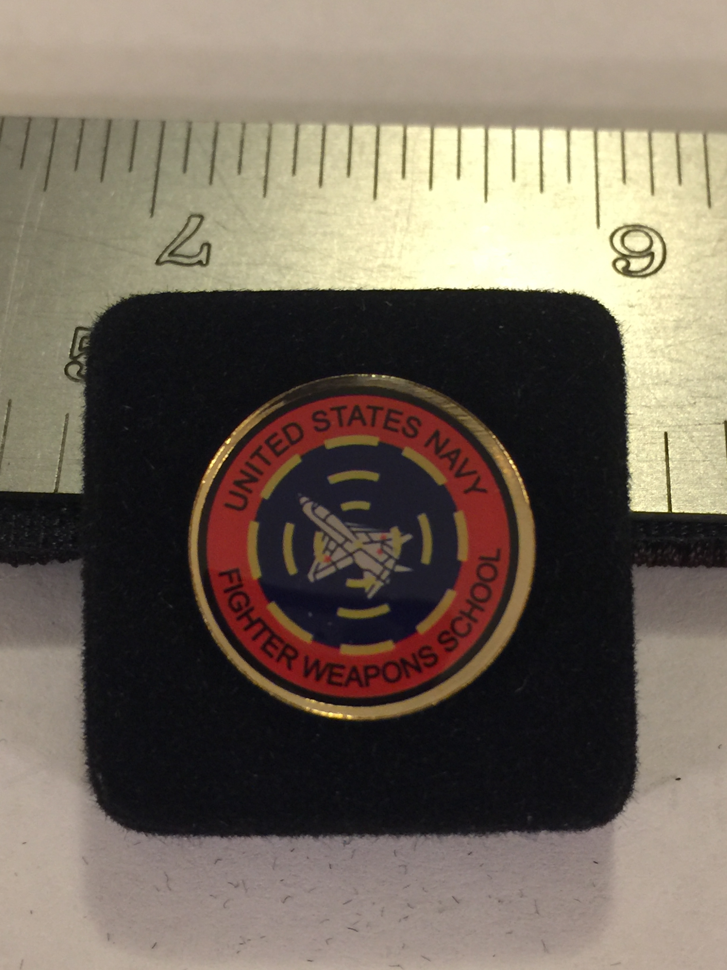 Lapel Pin: USN Fighter Weapons School