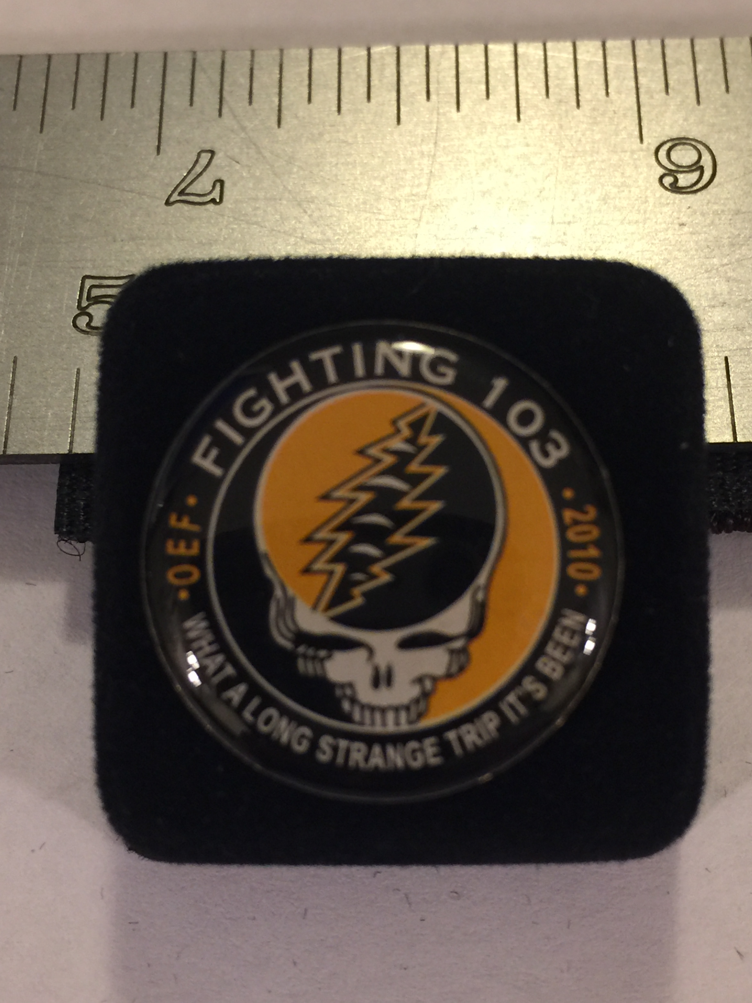 Lapel Pin: VF-103 'Grateful Dead'