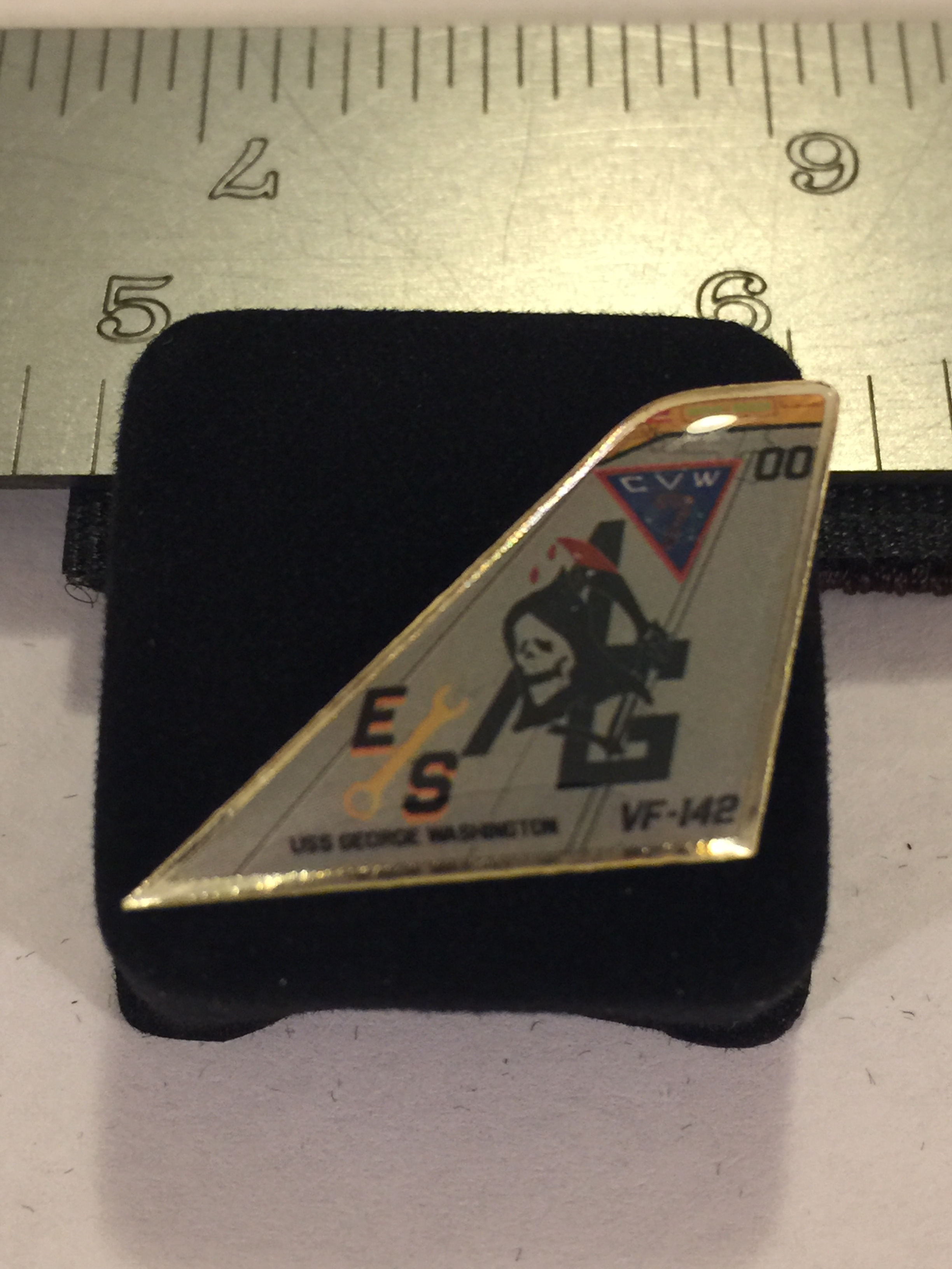 Lapel Pin: VF-142 Tailfin