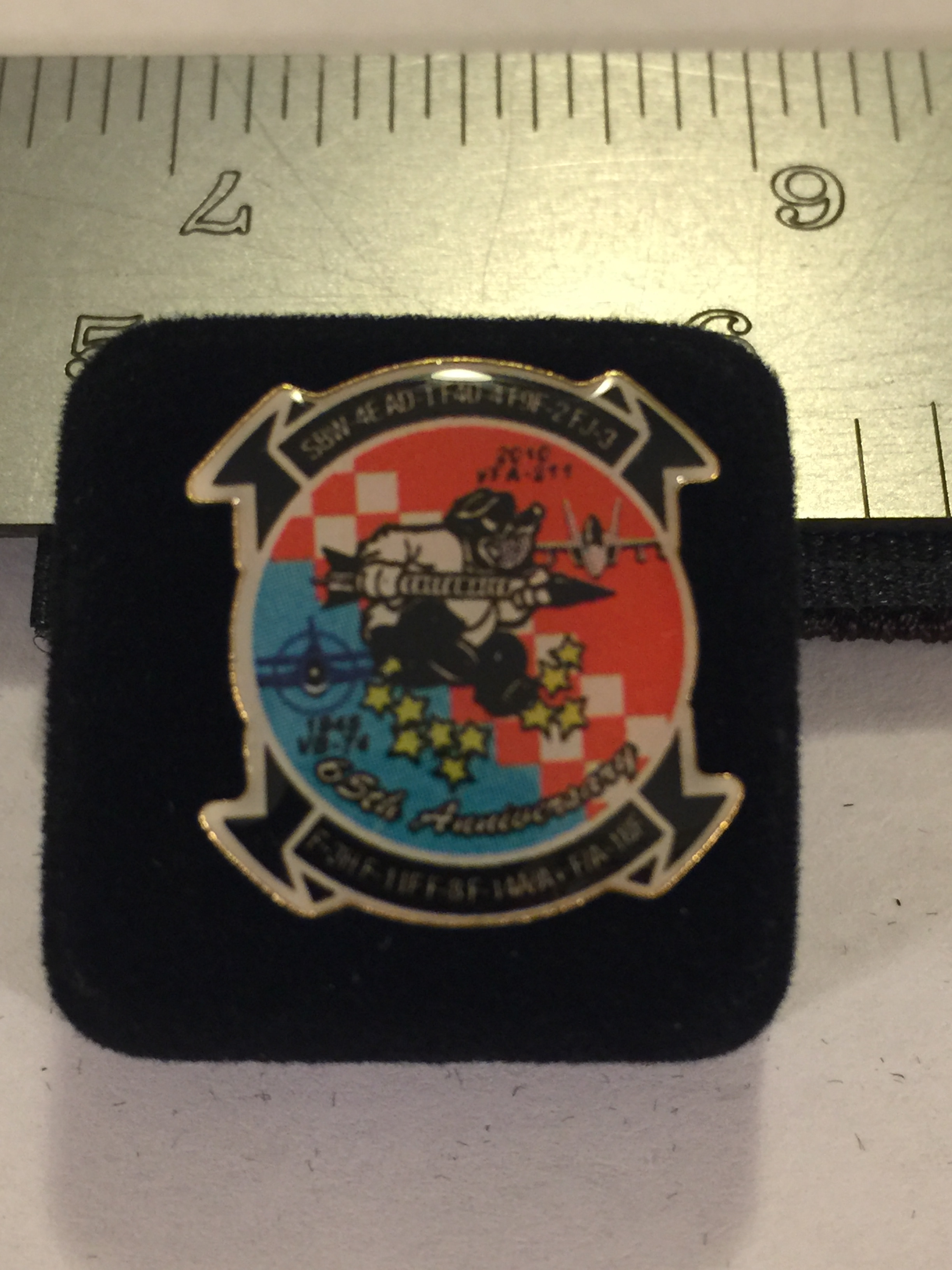 Lapel Pin: VF-211 Sqdn