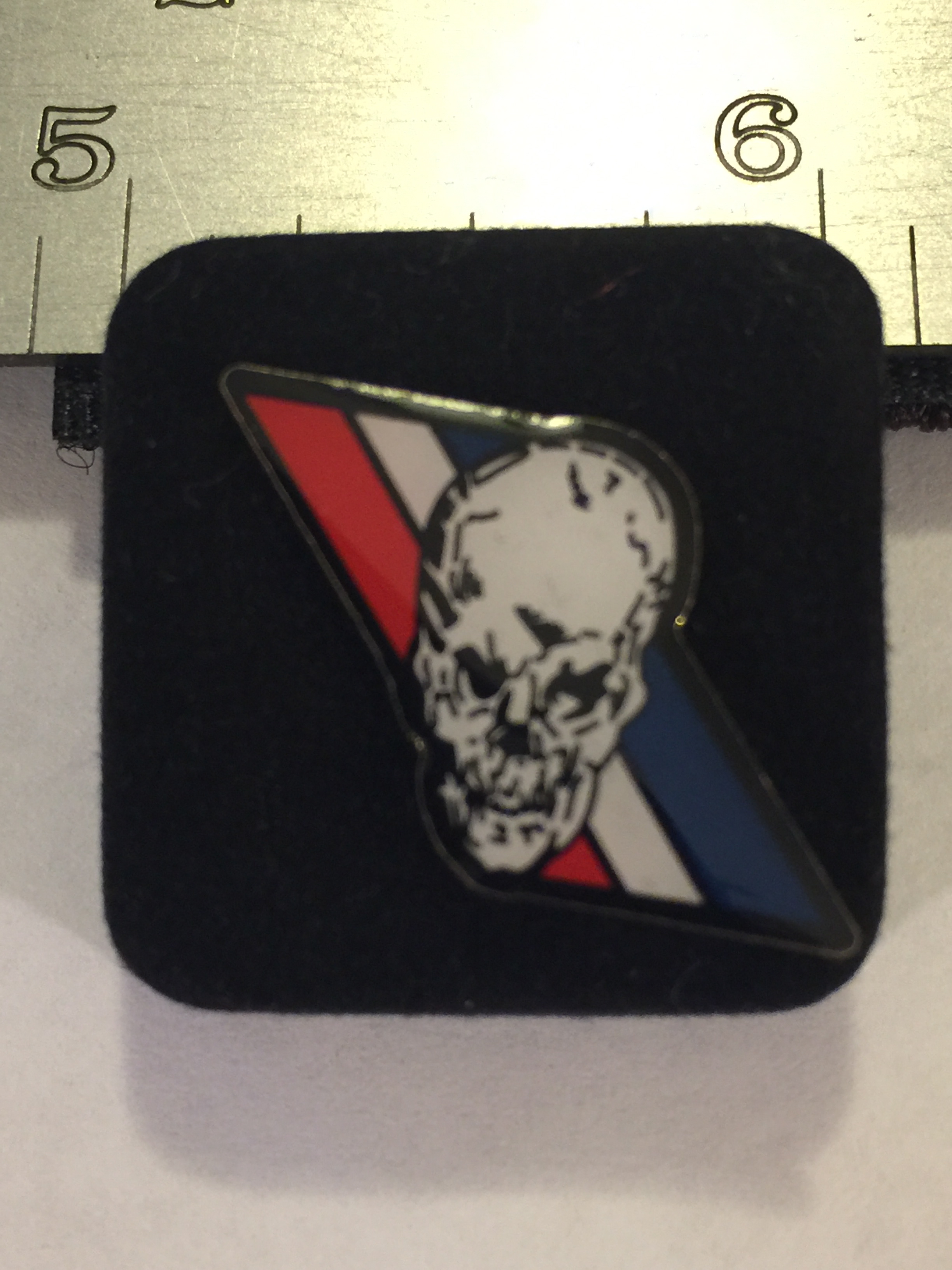 Lapel Pin: VF-2 'R/W/B' Stripe