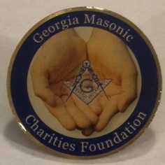 GA Masonic Charities Foundation Pin