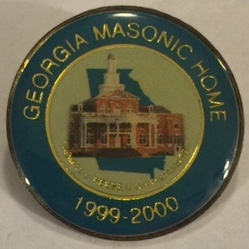 GA Masonic Home Pin (1999-2000)