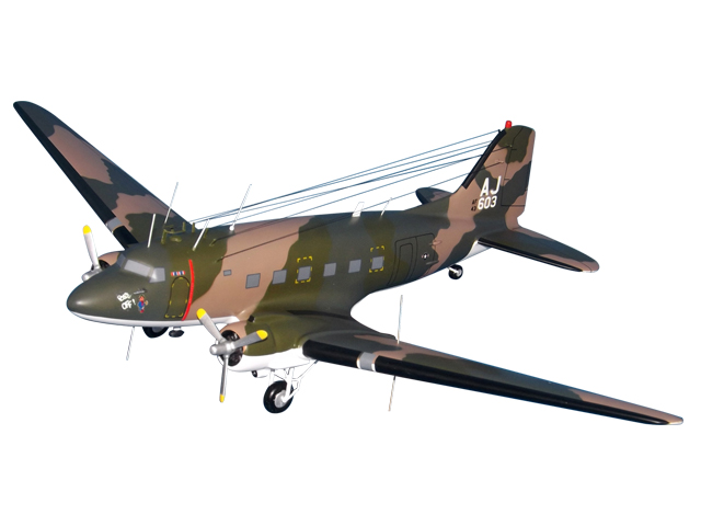 360TEWS EC-47P Aircraft (Large Model)