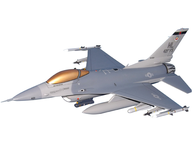 421FS F-16C Aircraft (Large Model)