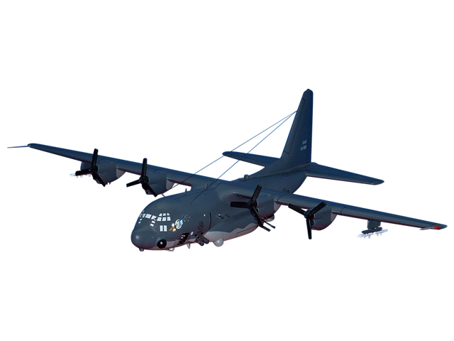 711SOS AC-130A Aircraft (Large Model)