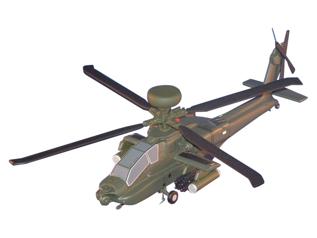 AH-64D Helicopter (Large Model)