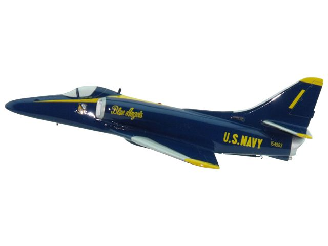 Blue Angels A-4 Aircraft (Large Model)