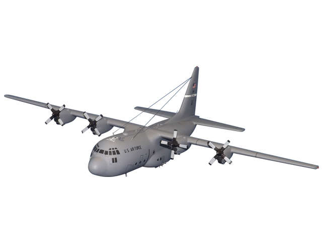 C-130 '55OG' Aircraft (Large Model)