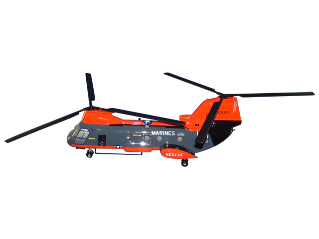 CH-46 Helicopter (Large Model)