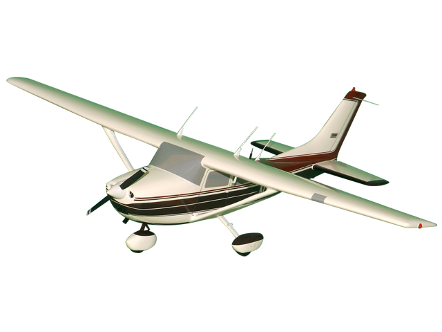 Cessna 182L Aircraft (Large Model)