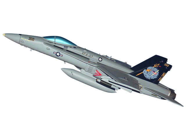 VFA-97 F/A-18 Aircraft (Large Model)