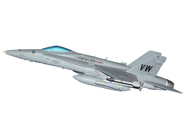 VMFA-314 F/A-18 Aircraft (Large Model)