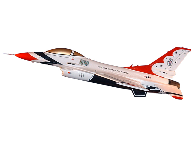USAF Thunderbird F-16A Aircraft (Large Model)