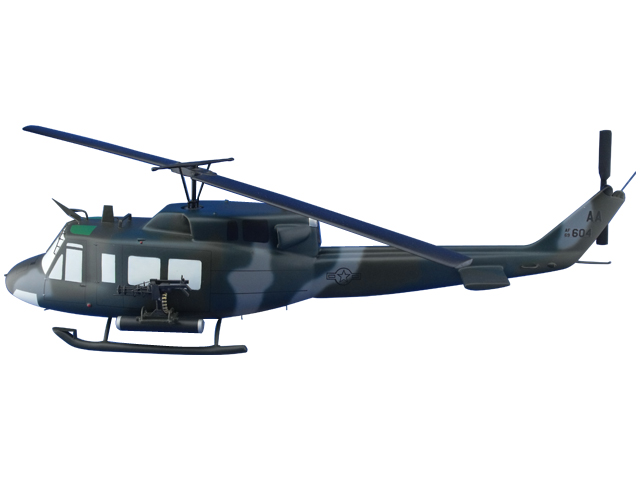 UH-1N Helicopter (Large Model)